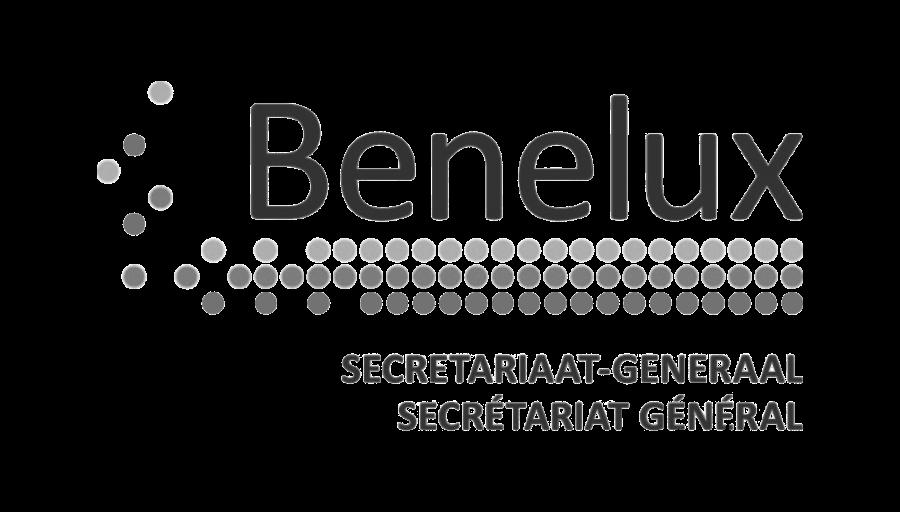 logo benelux zwart wit