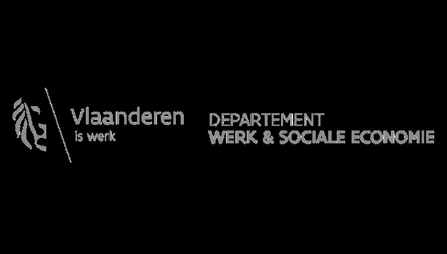 logo departement werk en sociale economie zwart wit