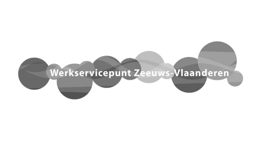 logo werkservicepunt zeeuws-vlaanderen zwart wit